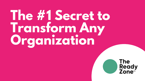 The Dignity Zone: Bringing The #1 Secret To Transform Any Organization